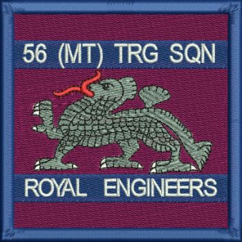 56 MT TRG SQN EMBROIDERED BADGE